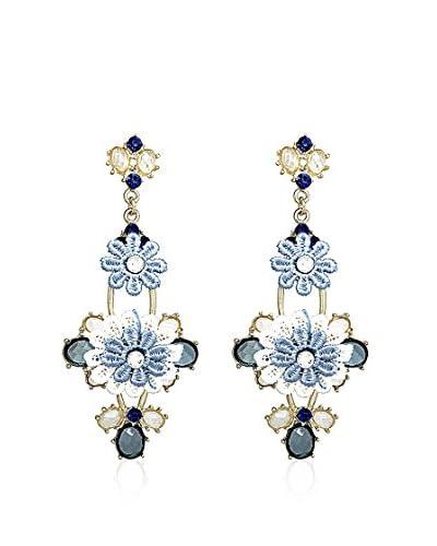 Fashionvictime Pendientes Gisèle Azul