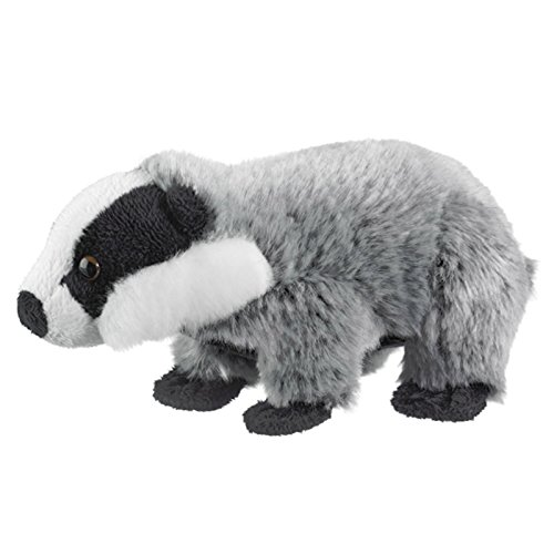 Wild Life Artist Stuffed Animal Soft Plush Badgers - 1