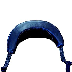 Saddle Barn Pro Rodeo Protective Leather Neck Roll by SADDLE BARN