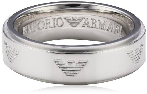 Emporio Armani unisex-anello in acciaio inox misura 54 (17,2) EG3030040-7