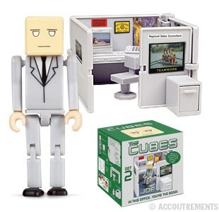 The Cubes 2: Joe Mini-Figure Playset