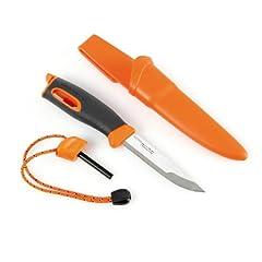 Light My Fire Swedish FireKnife with 9.5 cm (3.75 Inch) Sandvik Stainless Steel Blade... by Light my Fire