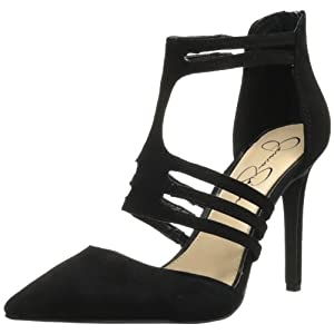 Jessica Simpson Women's Clementh Dress Pump,Black,9.5 M US