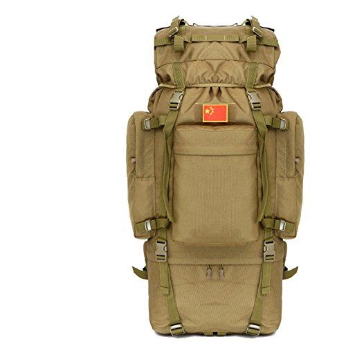 100L sac surdimensionné / extérieur / tactique / sac d'alpinisme sac à dos / sac à bandoulière camouflage-2 100L