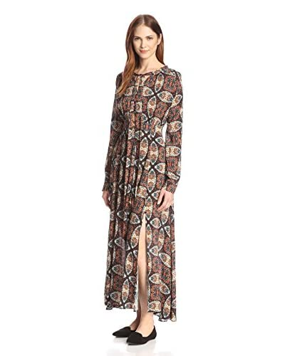 Allison Collection Women's Kaleidoscope Maxi Dress