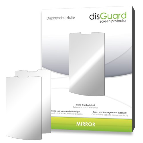 2 x disGuard Mirror Screen Protector for LG Jil