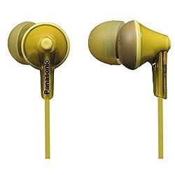 Panasonic RP-HJE125 Ergofit Stereo Earphone (Yellow)