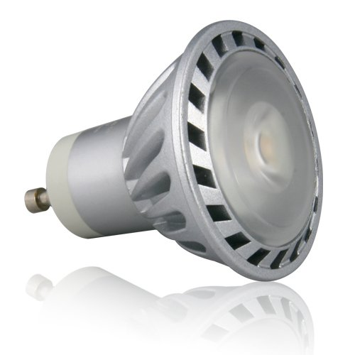 Lighting EVER® 5W GU10 LED Bulb, Sharp LED Inside, Equal to 40W Halogen, Resecced Lighting, Track Lighting, Warm White