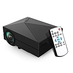 LELEC GM60BL Multi-media Portable Home Theatre Game Fun Projector