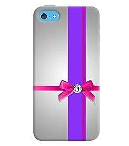 Fuson 3D Printed Designer back case cover for Apple I Phone 5C - D4586