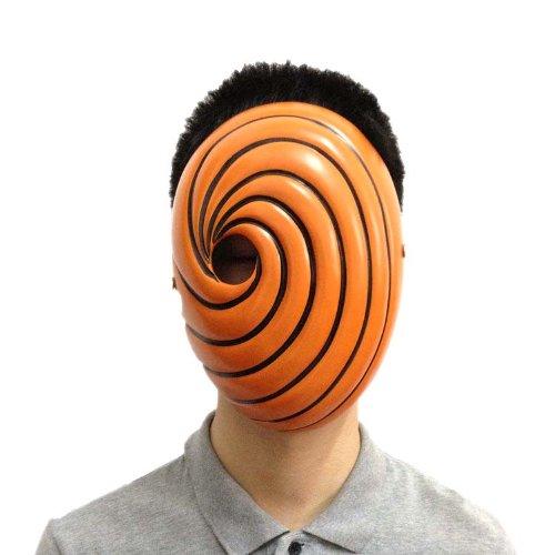【NARUTO◆ナルト 風】オビト あるうちはマダラ 木の葉 写輪眼 覆面/マスク/仮面 スポンジ付き もっと厚くなる コスプレ道具/小物 アニメ専線
