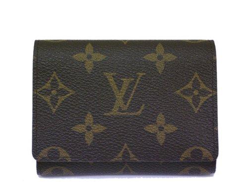Louis Vuitton ルイヴィトン カードケース 名刺入れ モノグラム アンヴェロップ カルト ドゥ ヴィジット エベヌ M62920 【並行輸入品】