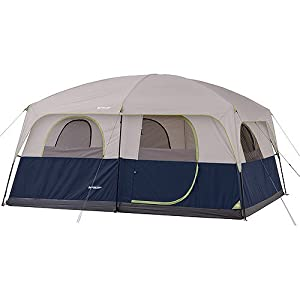 Amazon.com : Ozark Trail 10 Person 2 Room Straight Wall ...