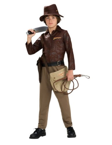 Indiana Jones Deluxe Tween Kids Boys Costume