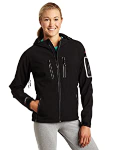 Buy Baffin Ladies Soft Shell Hooded Jacket by Baffin