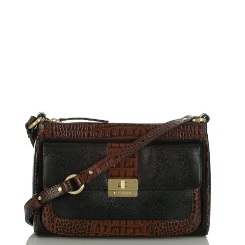 Rosie Shoulder Bag<br>Black Tuscan