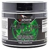 AI Sports Nutrition Alpha Lipoic Acid 300mg, 180 Count