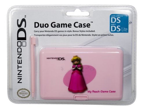 Nintendo DS Lite - Duo Game Case + Stylus, Prinzessin Peach, Nintendo DS