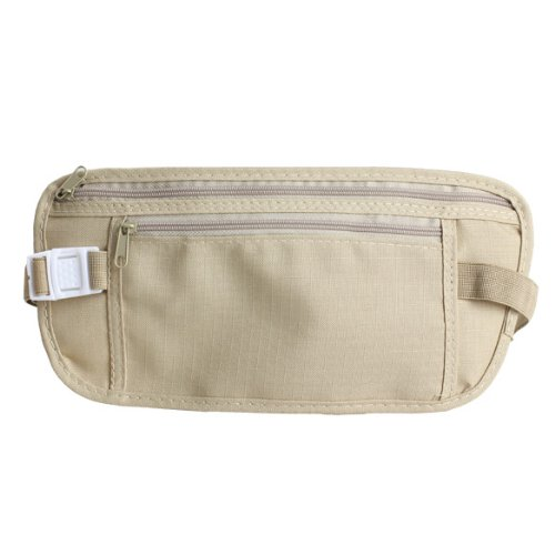 Vktech Travel Money Belt for Security Pouch Passport Cash Money Holiday Traveling