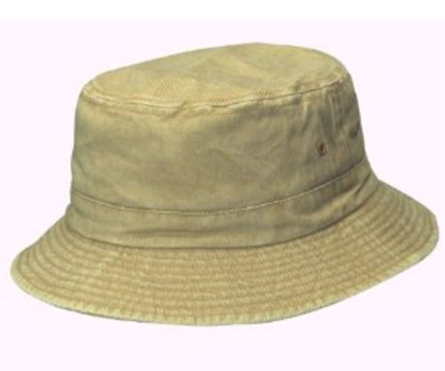 dorfman-pacific-cotton-packable-summer-travel-bucket-hat-small-medium-sand