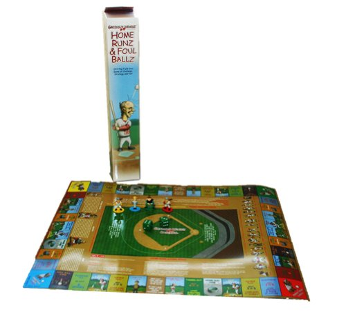 Griddly Headz Home Runz & Foul Balls Baseball Board Game