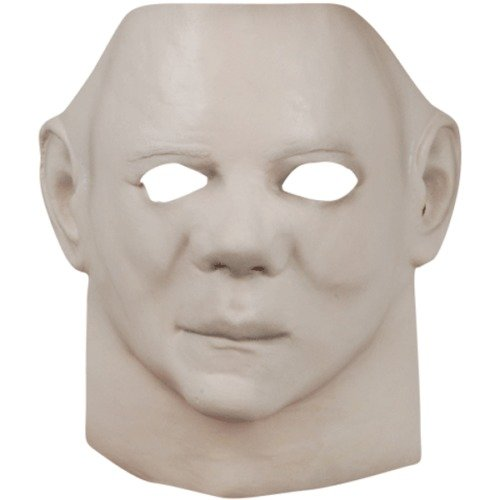 [Michael Myers Face Mask Halloween II 2nd Movie Adult Costume Haunted House] (Jeepers Creepers 2 Costume)