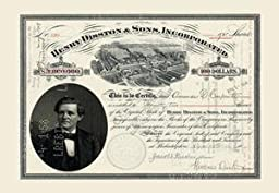 30 x 20 Stretched Canvas Poster Henry Disston & Sons Inc.