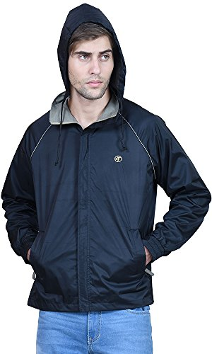 Forest-Club-Black-Hooded-Mens-ALL-TIME-WEAR-JACKET
