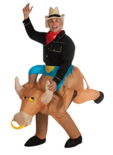 Ace Halloween Adult Inflatable Suit Bull Riding Costumes