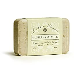L\'Epi de Provence Shea Butter Bath Soap - Vanilla Oatmilk - 7oz.