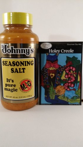 Johnny'S Seasoning And Wild Spice Pacific Northwest Gourmet Bundle Pack (Holey Creole)