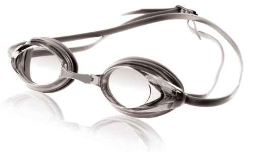 Speedo Vanquisher Swim-Swimming Racing Competition Goggles-Silver