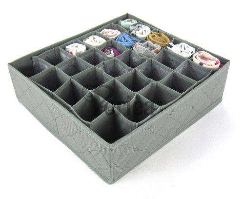 periea-drawer-organiser-30-compartments-grey-fosy