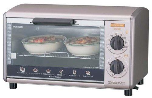 【Amazonの商品情報へ】ZOJIRUSHI オーブントースターこんがり倶楽部 温度調節機能付き ET-SW80-SK ブラウンシルバー