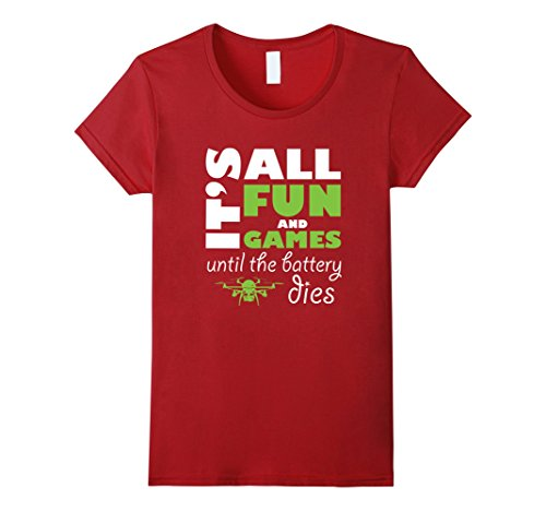 Its-All-Fun-and-Games-Funny-Drone-Pilot-T-Shirt-Tee