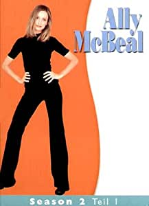 Ally McBeal - Season 2 - Box-Set 1  [3 DVDs] [Import allemand]