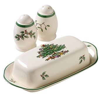 #!Cheap Spode Christmas Tree 3-Piece Hostess Set