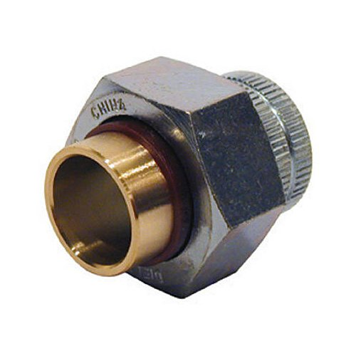"Pannext Fittings Corp Du-Fitxcs05N 1/2"", Dielectric Union, Female Iron Pipe Thread X Copper Solder Joint"