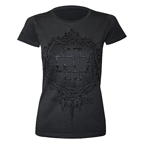"Rammstein, T-shirt per donne ""XXI"" (M)"