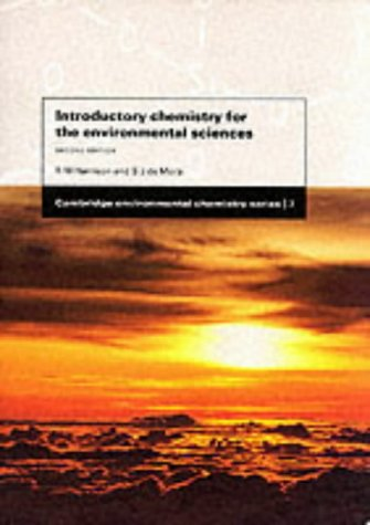Introductory Chemistry For The Environmental Sciences (Cambridge Environmental Chemistry Series)