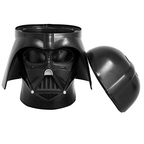 Star Wars RCL SH DV Darth Vader Storage Head, Plastica, Nero, 19.1x4.7x18.4 cm