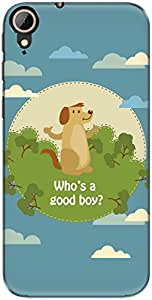 The Racoon Lean Good Boy hard plastic printed back case/cover for Htc Desire 830
