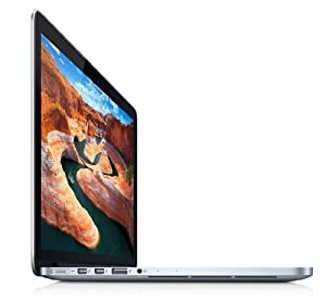 Apple MD212D/A MacBook Pro 33 cm (13 Zoll) Notebook (Intel Core i5 3210M, 2,5GHz, 8GB RAM, 128GB SSD, Mac OS)