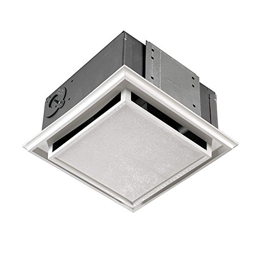 Broan 682 Duct-Free Ventilation Fan with Charcoal Filter, White Plastic-Grille (Door Exhaust Fan compare prices)