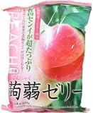 蒟蒻ゼリー ピーチ 12個 (6入り)