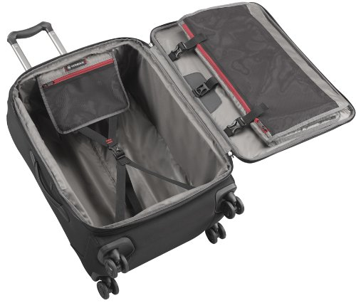 Victorinox Werks Traveler 4.0 WT 24 Dual-Caster, Black, 24