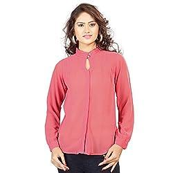 SFDS Women's Polyester Coral Shirt(T-358-Medium)