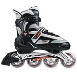 Schwinn Men's Max 1000 Adjustable Inline Skates - Size 8/8.5/9/9.5 - Black/Grey
