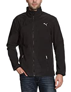 PUMA Herren Fleece Jacke, black, L, 506941 01