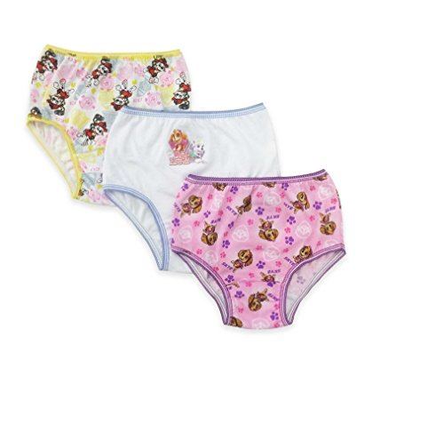 Nickelodeon Paw Patrol Toddler Girl's 3 Pack Girls Underwear Panties (4T)